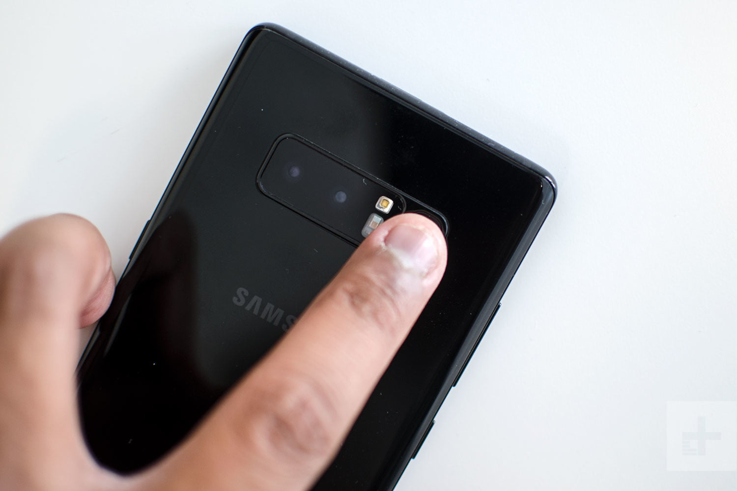 The best samsung galaxy note 8 tips and tricks digital trends samsung galaxy note 8 review fingerprint scan baditri Choice Image