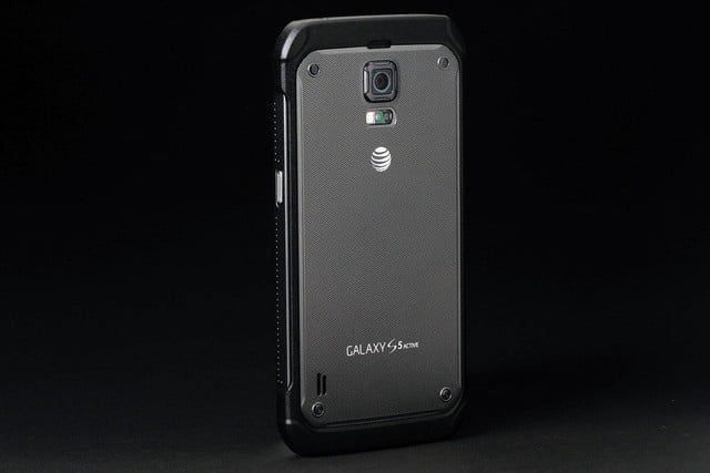 Samsung Galaxy S5 Active back left angle full