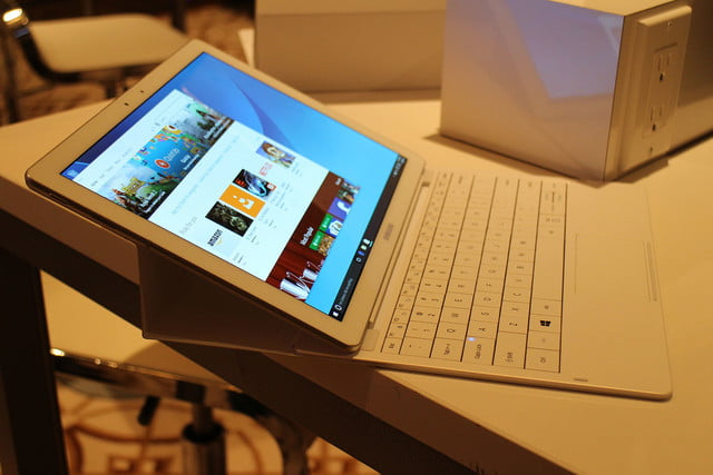 samsung tabpro s hands on ces 2016 galaxy 9782