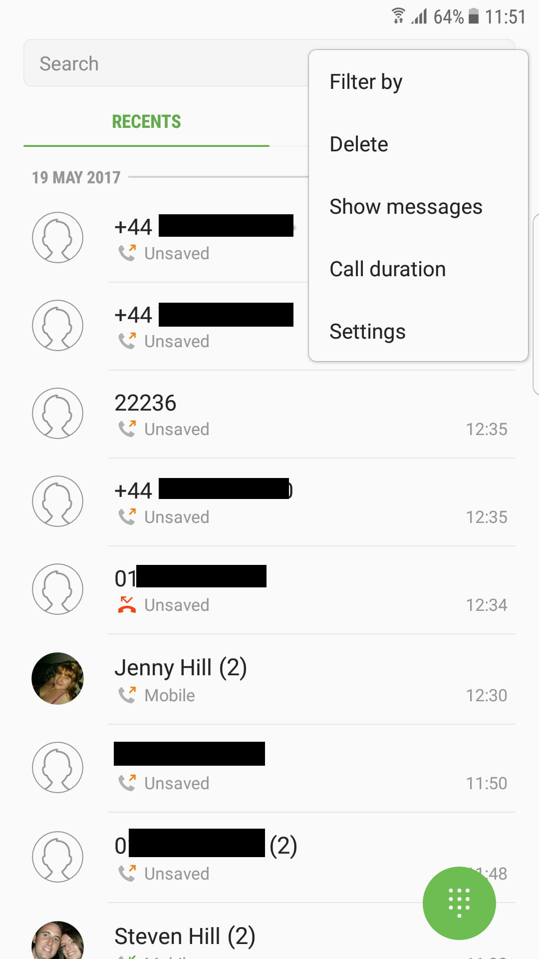 Blocking Calls On A Samsung Phone Samsung Block Number