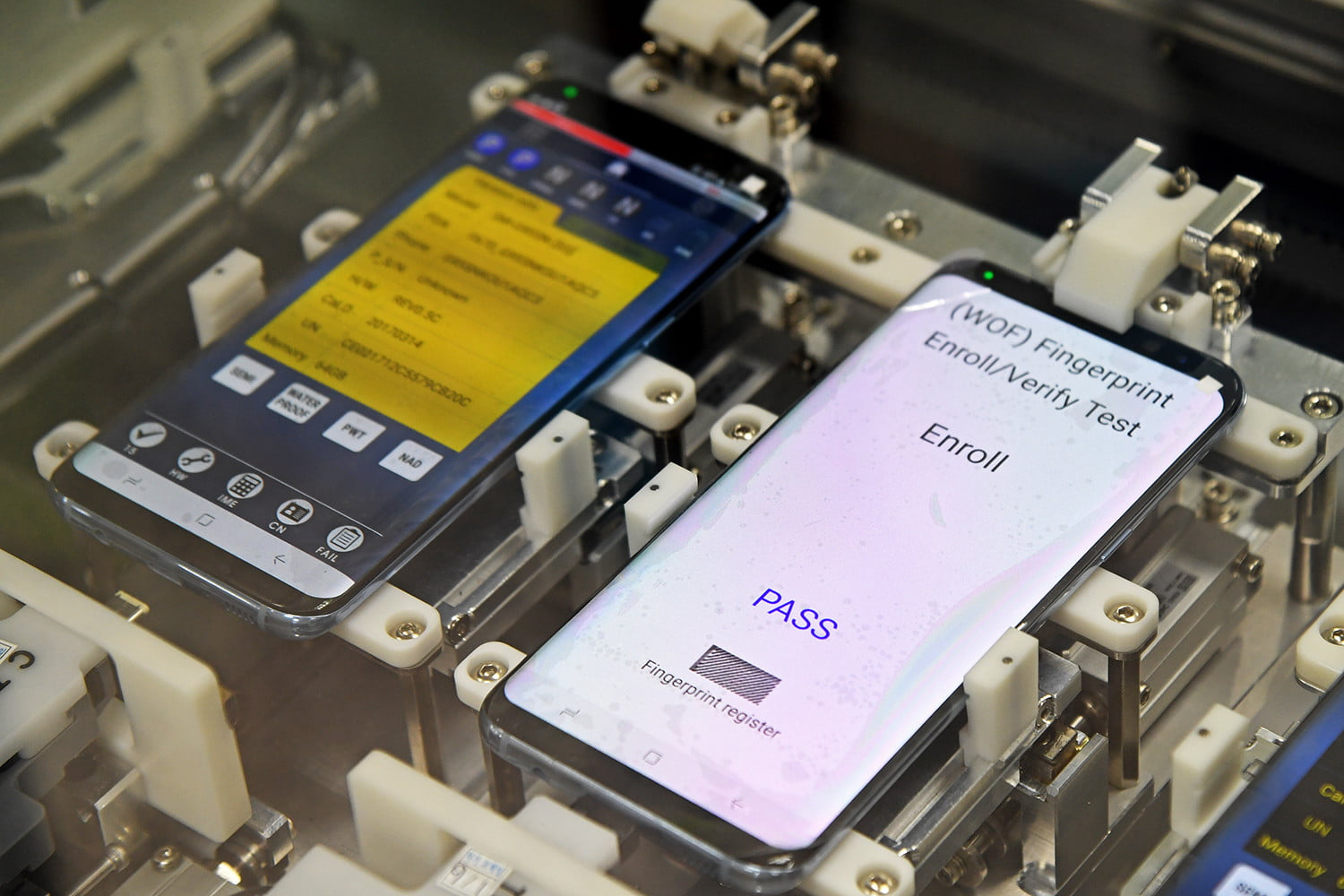 How Samsung Built The Galaxy S8 Design Battery Tech Features And Cell Phone Circuit Board Under Fused Glass It39s Been About Behind Scenes Designed Samsungfactorytour 001 5