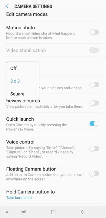 samsung galaxy s9 plus camera guide screenshot 20180315 170340