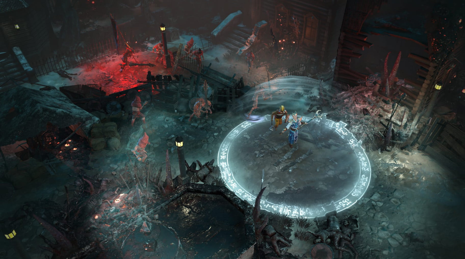 Warhammer Chaosbane doesn't wait to deliver good, gory fun