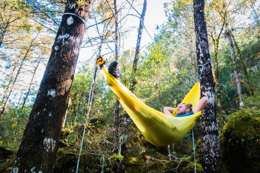 glamping sea to summit ultralight hammock