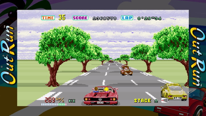best racing games sega ages out run