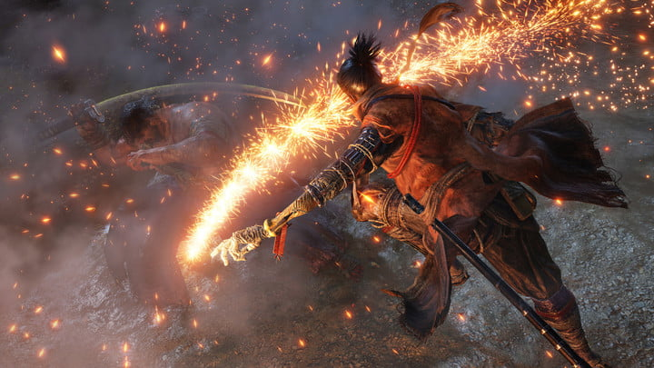 sekiro shadows die twice sparks
