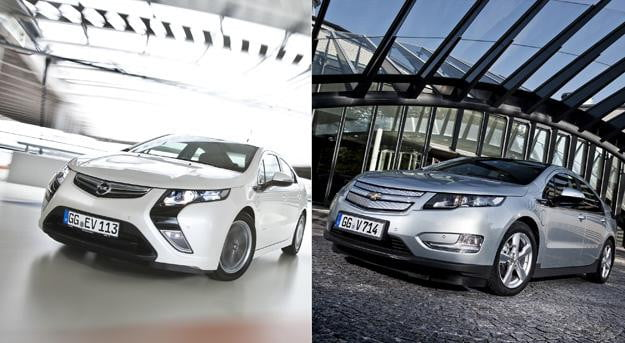 Separated at birth: The differences between the Chevy Volt and Opel