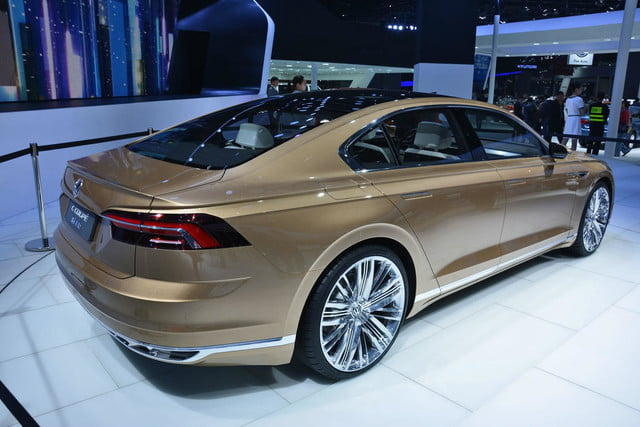 volkswagen c coupe gte concept official pictures and specs shanghai 4