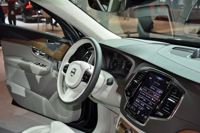 volvo lounge console concept pictures shanghai xc90 excellence 7