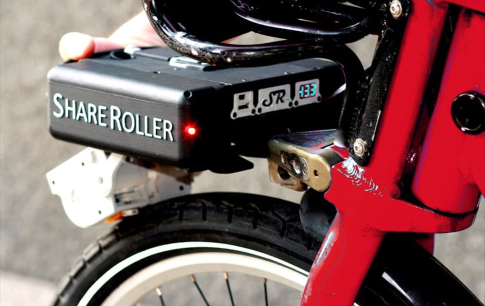 Shareroller S Detachable Bike E Motor Charges Your Phone