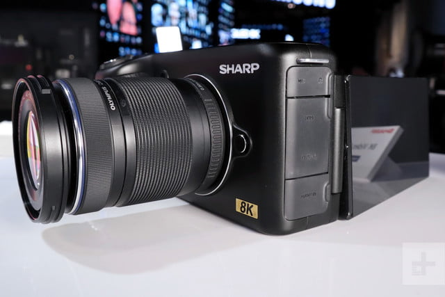 sharp 8k camera prototype ces 2019 prosumer 2