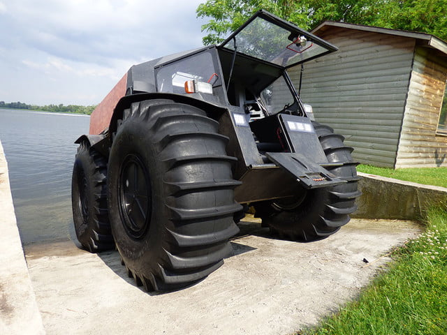 russian sherp atv self inflating tires 0001
