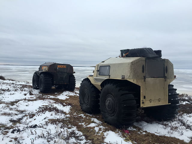 russian sherp atv self inflating tires 0004