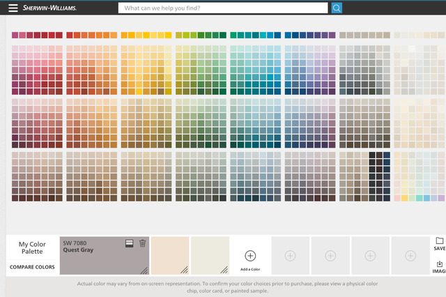 best tools to help you pick out paint colors for your walls sherwin williams tool swatches