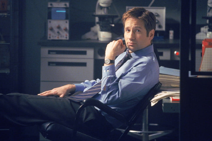 fox mulder the x files