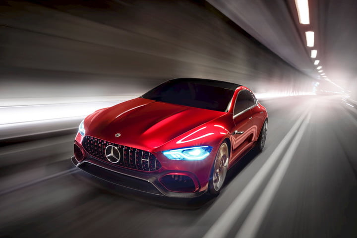 Mercedes Amg Gt Four Door Concept Electric Cars