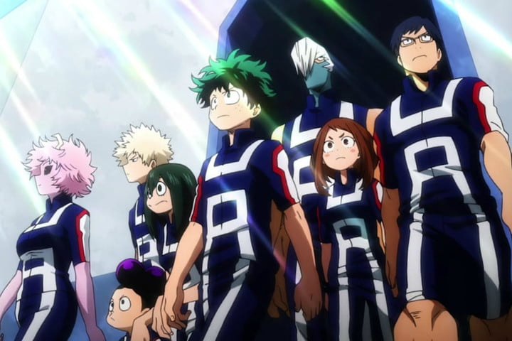 best new shows and movies to stream my hero academia