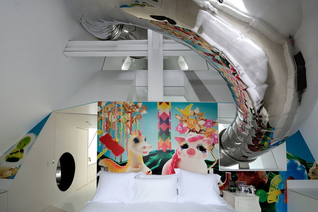 houses with amazing indoor slides skyhouse 026