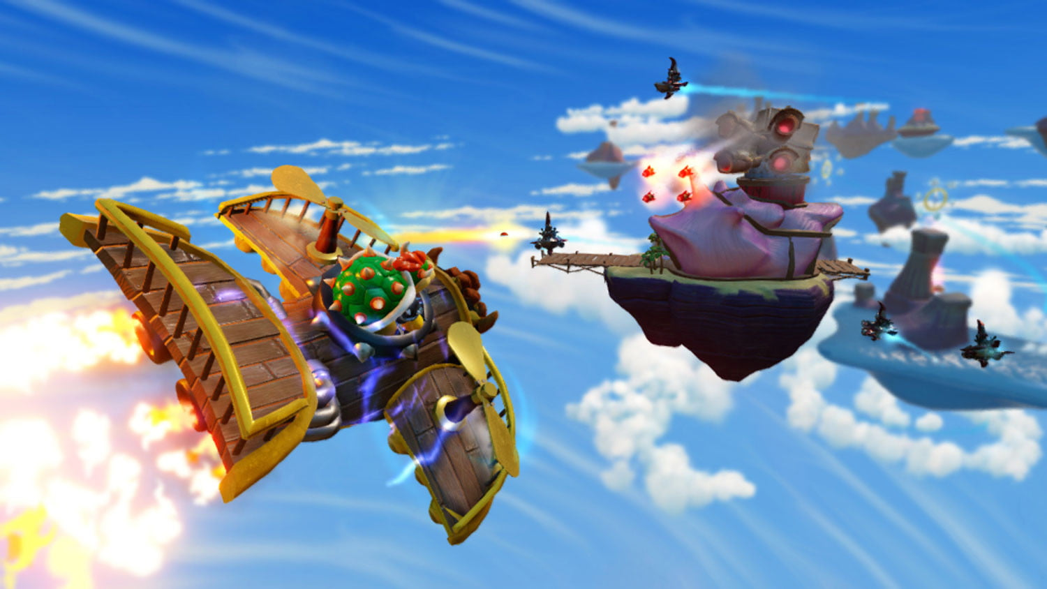 Skylanders Superchargers Two Player Race. - YouTube