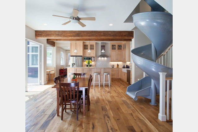 houses with amazing indoor slides sliding into home 2a1