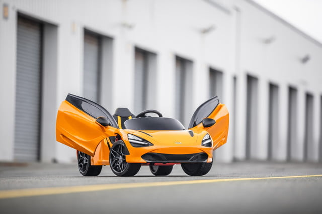 mclaren 720s ride on electrifies the kiddy car segment small 11069 mclaren720sride