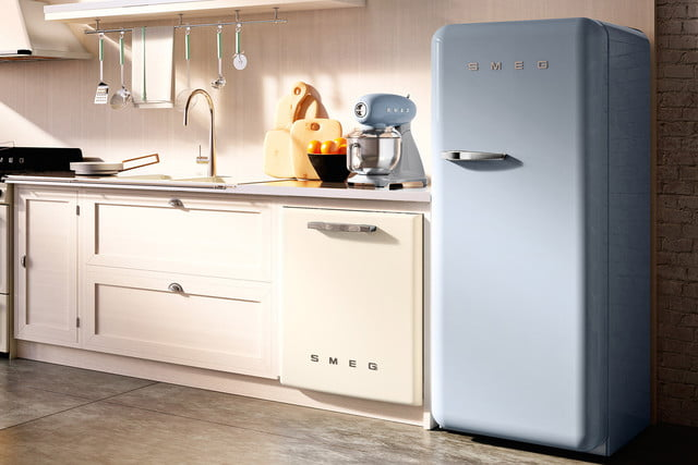 Throwback: Smeg expands its retro appliance line with a bigger fridge and  dishwasher