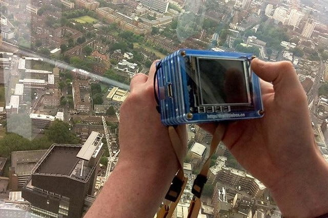 snappicam raspberry pi interchangeable lens camera hack together 4