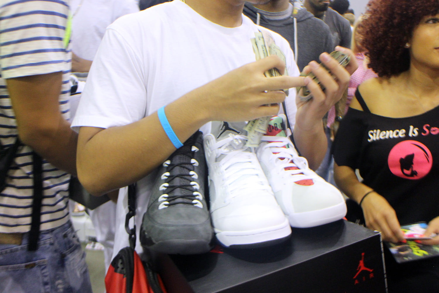 bc7cab0fbfc sneakercon sneaker culture matures making money from sneakers