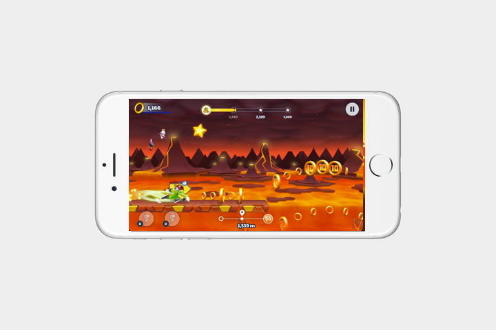 best iphone games sonic runners adventure