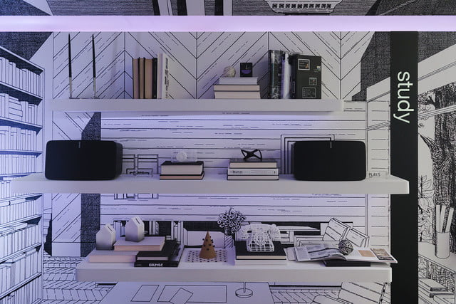 sonos retail store nyc sound listening room 2 thibaud herem wallpaper  details