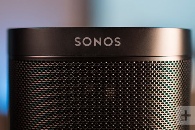 Sonos One review front logo