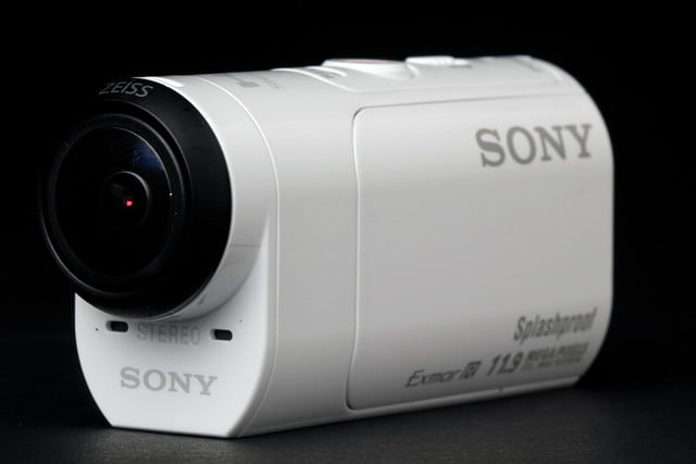 Sony Action Mini Cam front angle 3
