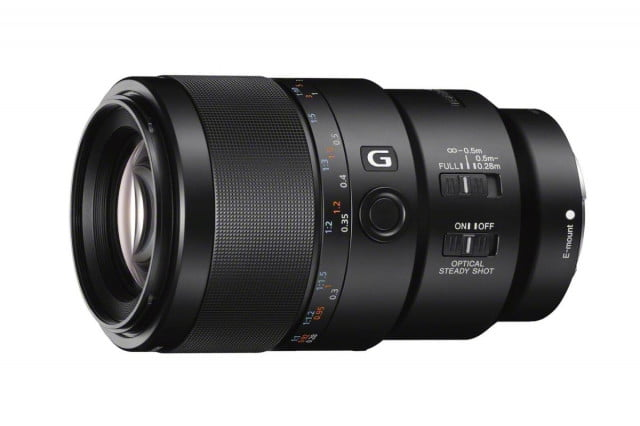 sony strengthens full frame a7 cameras with new macro and zoom lenses sel90m28g a 1200