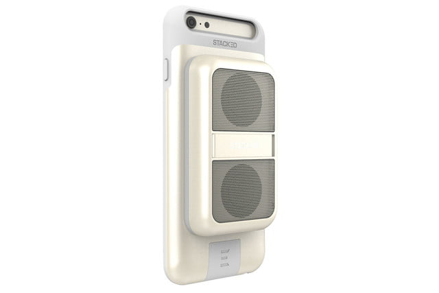 get stackeds new audio solutions and rid of all your wires for the iphone stacked boost speaker 4