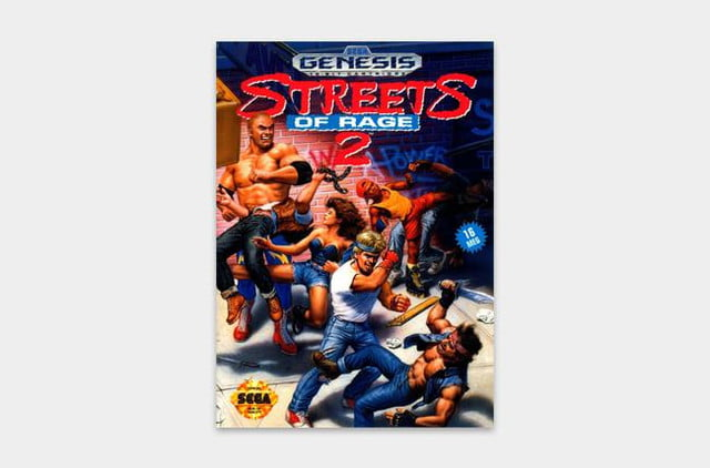 best sega genesis games streets cover 2