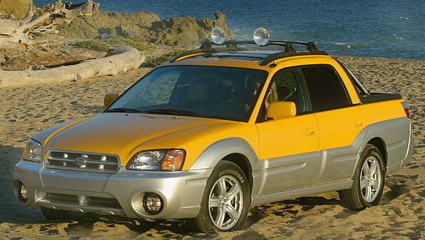 best cars for camping subaru baja 607 607x344