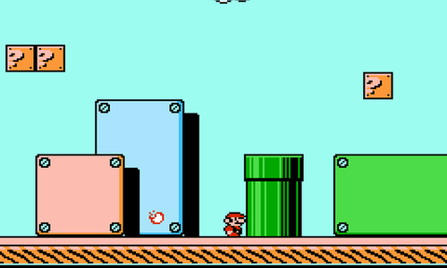 Super Mario Bros  3' is a classic, but I couldn't see past the art I