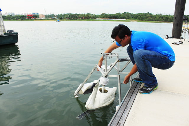 robot swan water quality 2