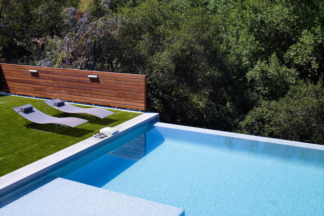 iceberg basements swatt miers architects shimmon residence modern pool