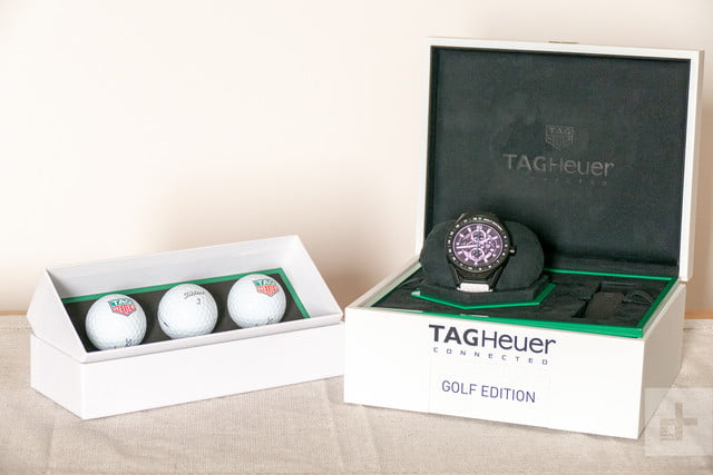 tag heuer connected modular 45 golf edition 7