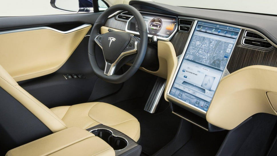 tesla model 3 to be unveiled in two parts s interior 970x546 c