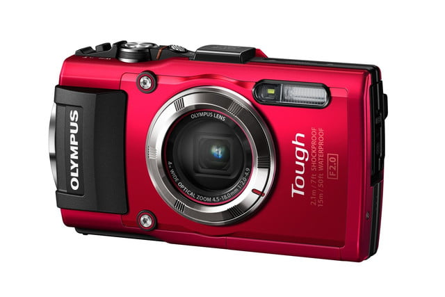 olympus announces stylus tough tg3 tg 3 red right