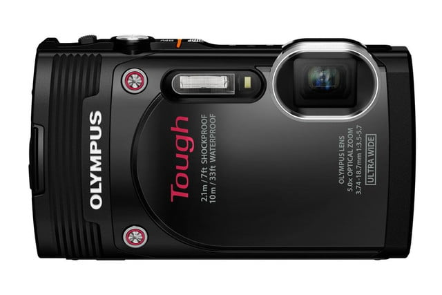 olympus debuts new stylus tg 850 tough camera blk front