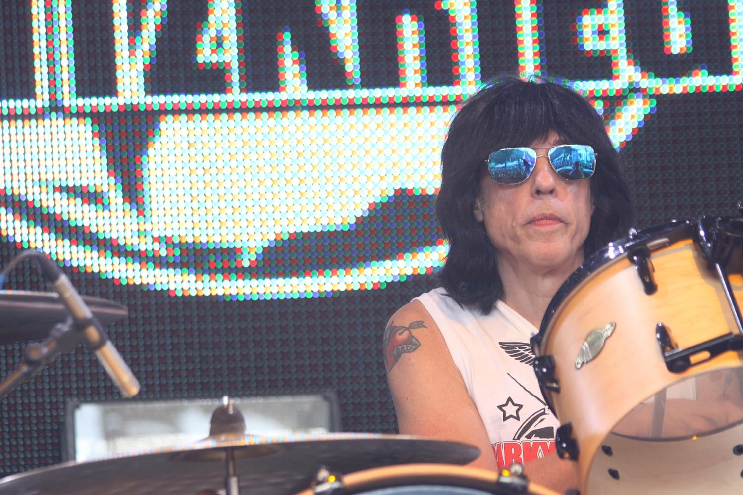 iTunes 'sounds so small' to punk rock founding father Marky Ramone