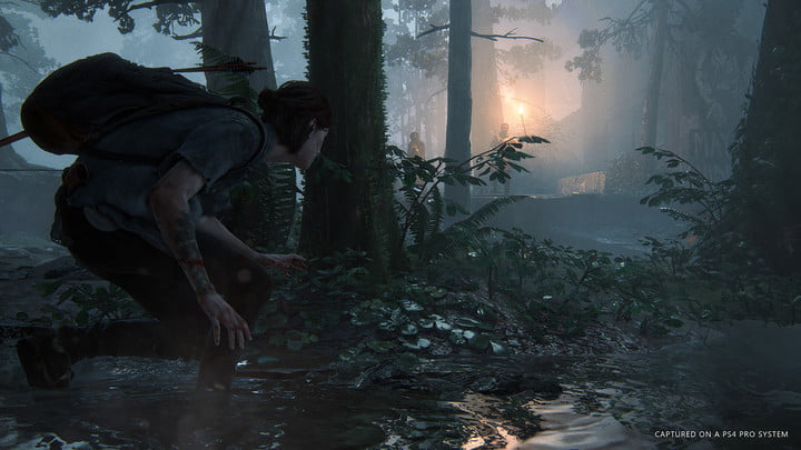 the last of us part 2 crouching
