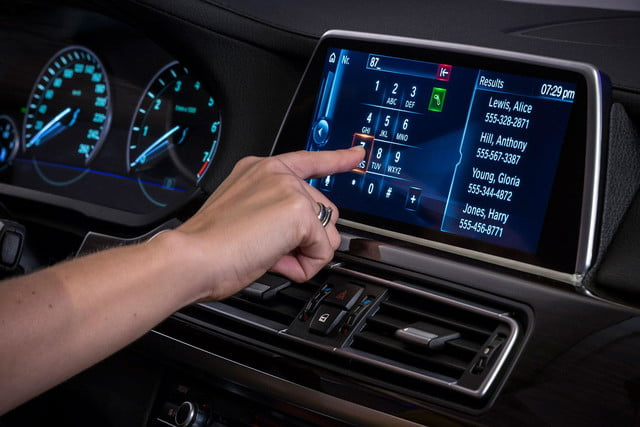 new bmw idrive features touchscreen and gesture recognition the next generation of 13