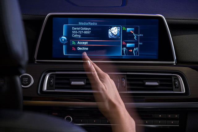 new bmw idrive features touchscreen and gesture recognition the next generation of 4