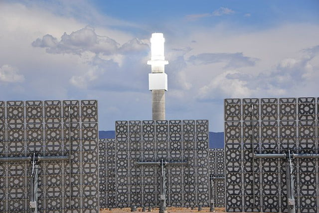 peek inside nevada solar plant 247 power molten salt the project will deliver enough firm  reliable electricity from to 75 00
