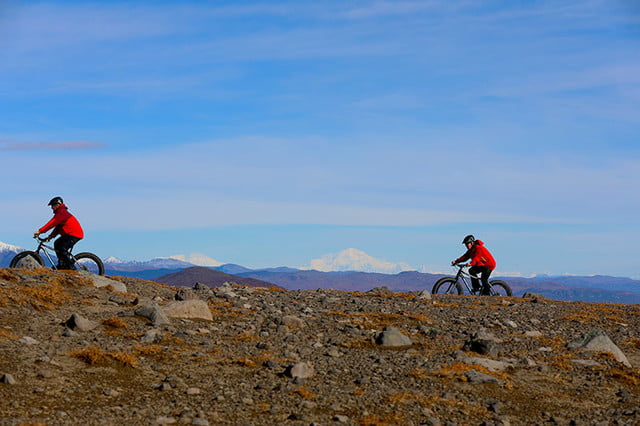 Tordrillo Heli Biking