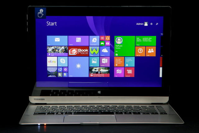 Toshiba Satellite Click 2 Pro P30W BST2N22 front home